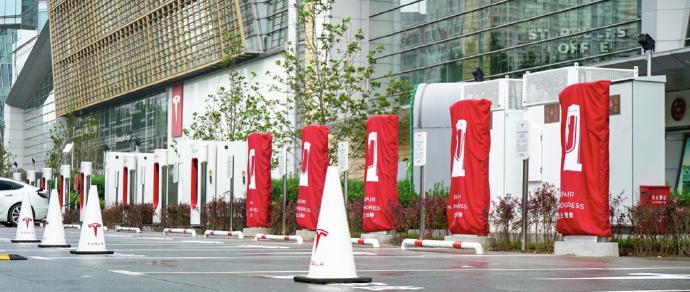 特斯拉 V3 超级充电站落地北京,将加速在中国扩充充电网-企查查